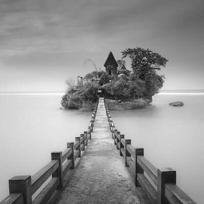 water art photography:  Island Sky by Hengki Koentjoro