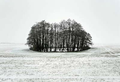 winter art: Island 1 by Hartwig Klappert