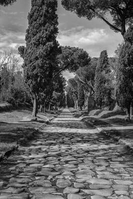landscape photography:  Via Appia by Helmut Schlaiß
