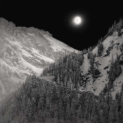 landscape photography:  Moon Ride, Timeless Machine by Irene Kung
