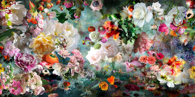 Floral Art Prints: Bestsellers: Only In Your Heart by Isabelle Menin