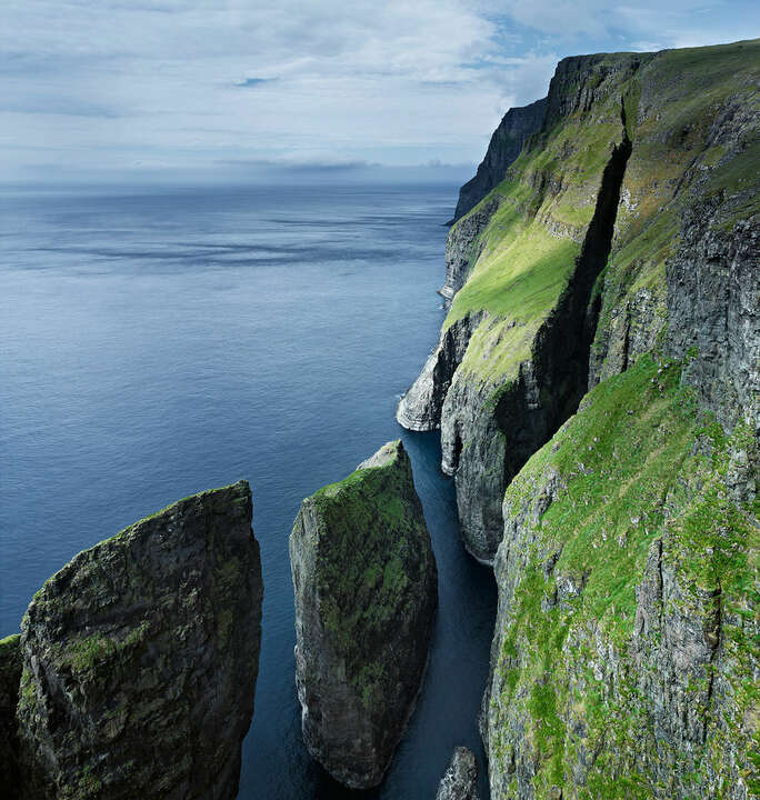 Sea stacks #2, Faroe Islands by Jonathan Andrew