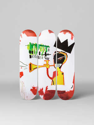Gifts for couples: Trumpet by Jean - Michel Basquiat