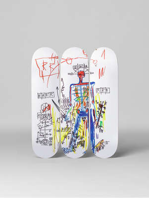 Robot by Jean - Michel Basquiat