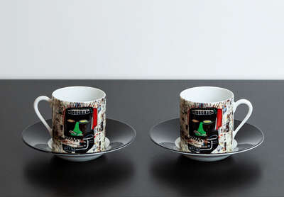 GLENN - Espresso Set by Jean - Michel Basquiat