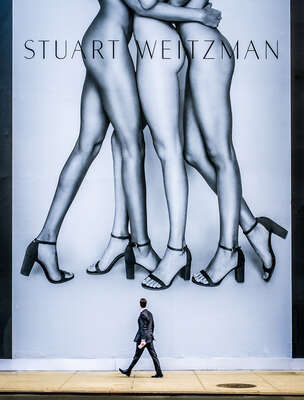 Fashion Wall Art:  Legs 5th Avenue by Joseph Cela