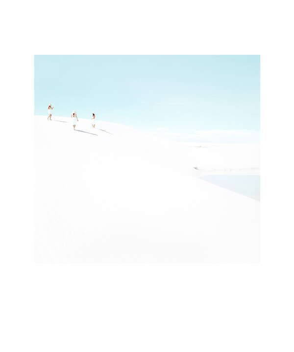 White Sands Beach #1 by Julia Christe