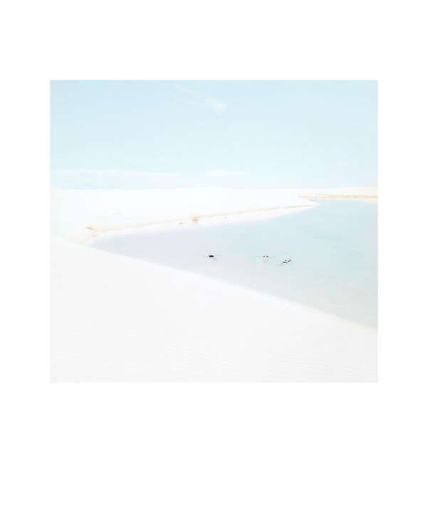 White Sands Beach #2 by Julia Christe