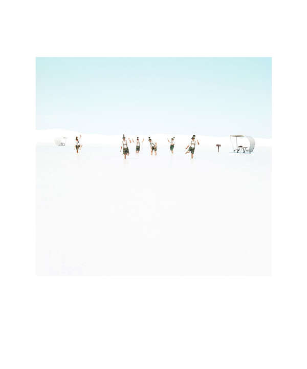 White Sands Beach #3 by Julia Christe