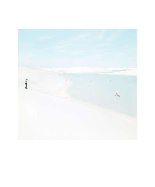 White Sands Beach #4 by Julia Christe