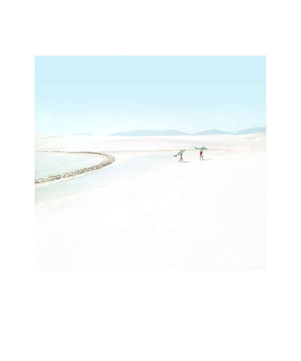 White Sands Beach #5 by Julia Christe