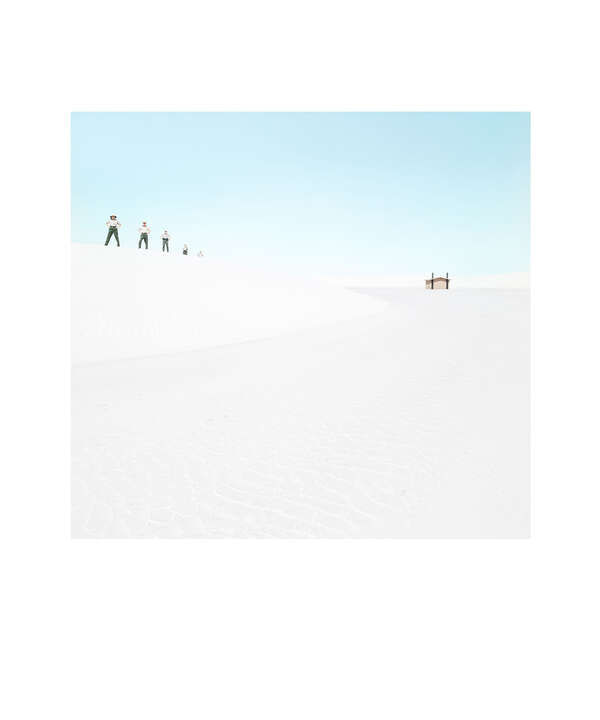 White Sands Beach #7 by Julia Christe