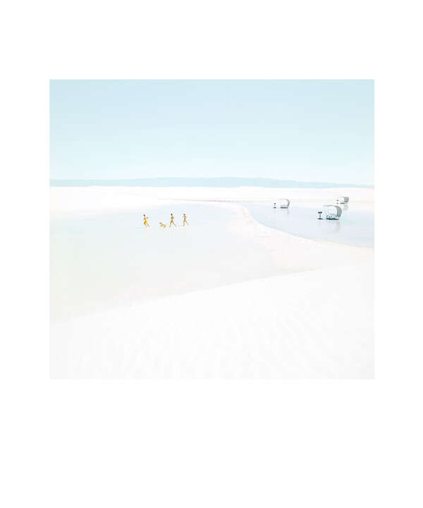 White Sands Beach #8 by Julia Christe