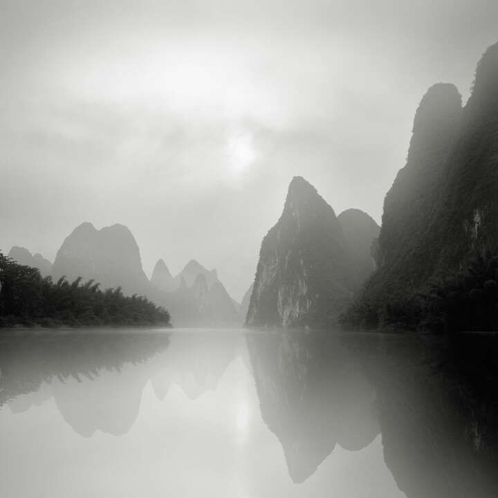 Li River, Guilin , Study 2 by Jonathan Chritchley