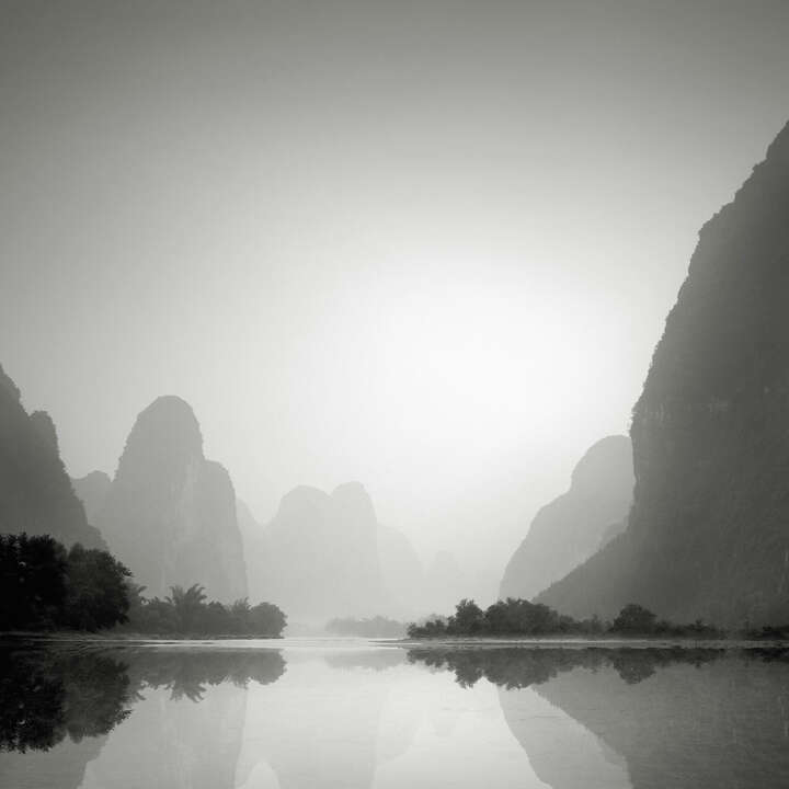 Li River, Guilin , Study 6 by Jonathan Chritchley