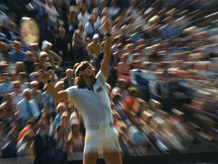 Björn Borg, Wimbledon by Jean - Denis Walter Sport Collection