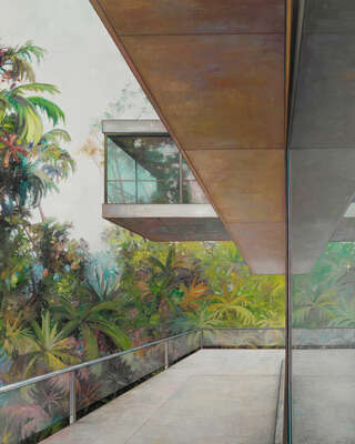 Art Prints: architecture and cityscapes: Psychology in the jungle by Jens Hausmann