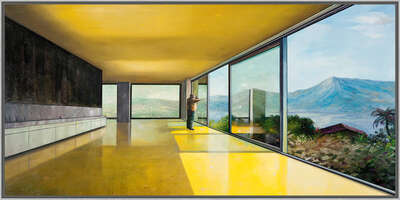 Architecture Prints by Jens Hausmann: Modern house interior by Jens Hausmann