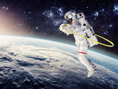 Celebrity Portrait Photography:  Astronaut II by Jirko Bannas