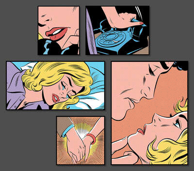Pop Art prints: Her Story by Joe Mcdermott