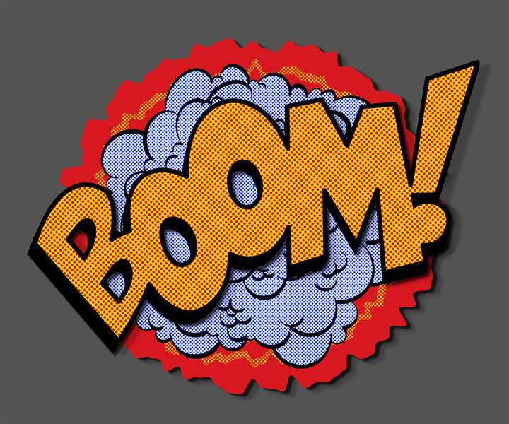 BOOM! by Joe Mcdermott