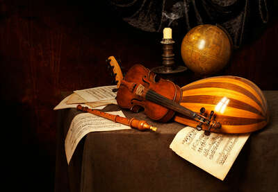 Still Life Art  Musical Vanitas by Kevin Best