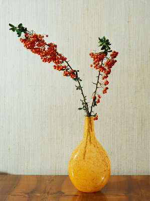 Flower Art Prints: Still Lifes Blühende Zweige by Kris Scholz