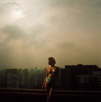 curated sunset artworks: SHANGHAI 5 by Klaus Thymann