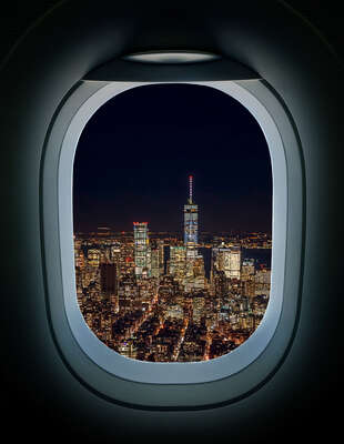 New York Bilder: Taking-Off, 21:45 von Luc Dratwa