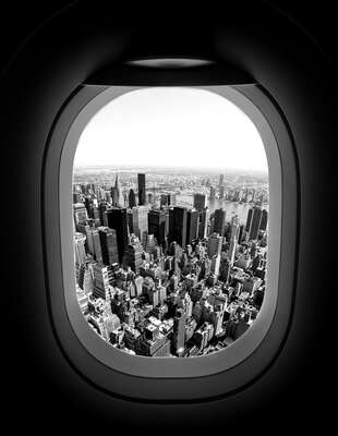 New York Bilder: Taking-Off, 14:35 von Luc Dratwa