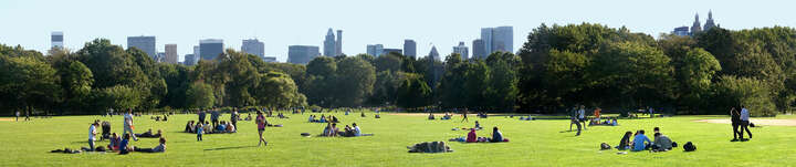 Central Park #2, New York, USA von Larry Yust