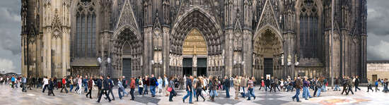 Domplatz, Cologne, Germany von Larry Yust