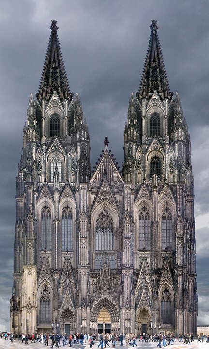 Cathedral, Cologne, Germany by Larry Yust