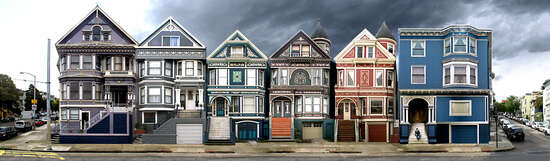 San Francisco, Waller St. by Larry Yust