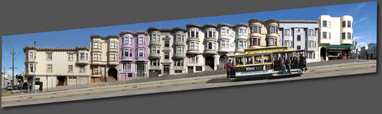 San Francisco, Mason St. #1 by Larry Yust