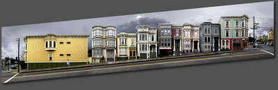 San Francisco, Page Street by Larry Yust
