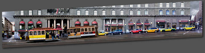 San Francisco, Powell Street by Larry Yust