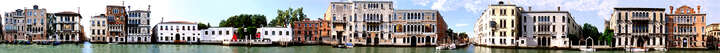 Grand Canal, Accademia, Venice, Italy von Larry Yust