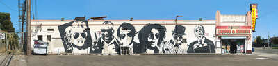 Celebrity Art:  Los Angeles, Meadowbrook Avenue by Larry Yust