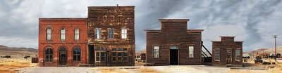 Farmhouse and Country Style Artworks: Bodie, California, Main Street #2 by Larry Yust
