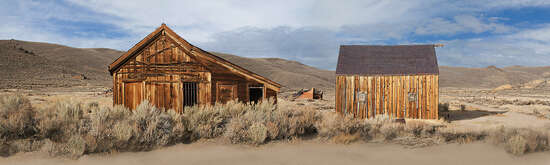 Bodie, California, King St. by Larry Yust