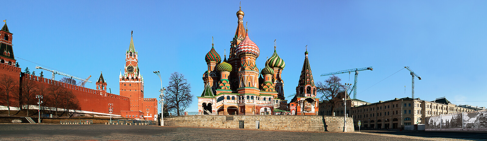 Moscow, St. Basil´s Cathedral von Larry Yust
