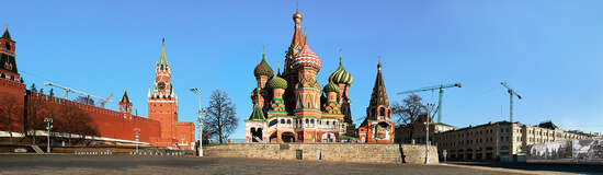 Moscow, St. Basil´s Cathedral