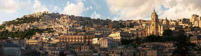 Landscape Print Panoramas: Modica by Larry Yust