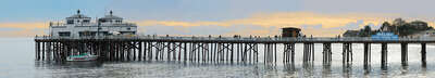 water art photography:  Malibu Pier by Larry Yust