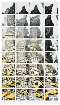 Abstract Architecture Prints: Yellow Dance, New York 2008 by Maurizio Galimberti