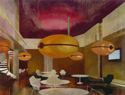 Mid Century Modern artworks: Invasion by Martin Kasper