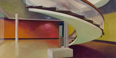 Art Prints: LUMAS paintings: Staircase by Martin Kasper