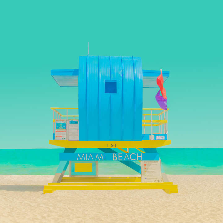The Modern Paradise - Miami Beach 2 by Mijoo Kim & Minjin Kang