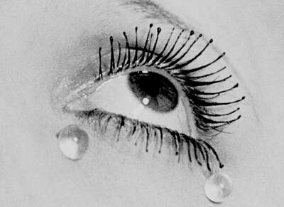 Surrealism photography: Tears, 1930 by Man Ray